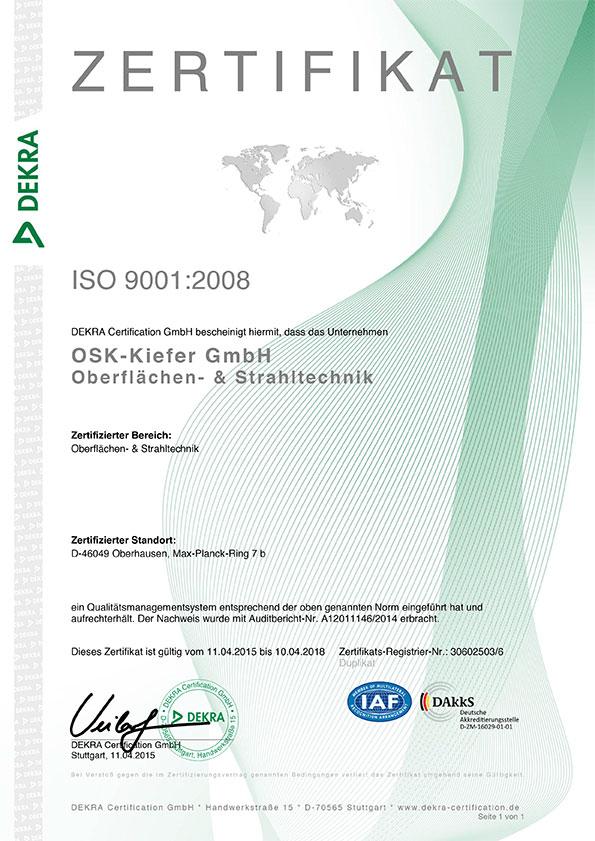 Zertifikat-ISO-9001-2008-Oberhausen